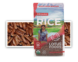 Organic Red Rice - click to buy or for more information