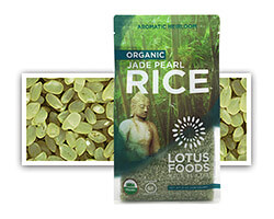 Organic Jade Pearl Rice™ - click to buy or for more information