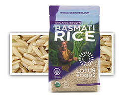 Organic Traditional Dehraduni Brown Basmati Rice