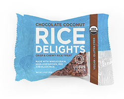Organic Chocolate Coconut Rice Delights