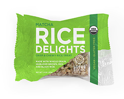 Organic Matcha Mint Rice Delights