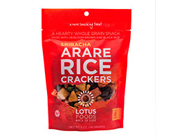 Sriracha Arare Rice Crackers