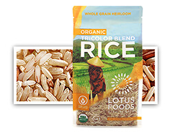 Organic Tricolor Blend Rice - click to buy or for more information