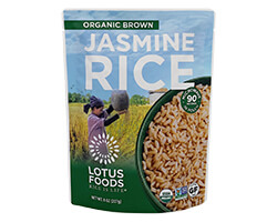 Organic Brown Jasmine Rice Heat & Eat Pouch - click to buy or for more information