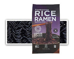 Forbidden Rice® Ramen with Miso Soup