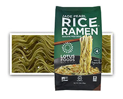 Jade Pearl Rice™ Ramen with Miso Soup