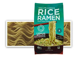 Wakame & Brown Rice Ramen with Vegetable Broth