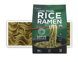 Organic Jade Pearl Rice™ Ramen (4 Ramen Cakes) - click to buy or for more information