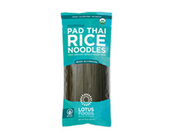 Organic Moringa Pad Thai Rice Noodles - click to buy or for more information
