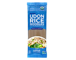 Organic Brown Udon Rice Noodles - click to buy or for more information