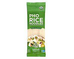 Organic Traditional Pho Rice Noodles - click to buy or for more information