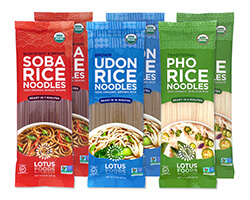 Organic Asian Rice Noodles Variety Pack - click to buy or for more information