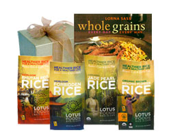 Gift Box - World Rice Gift Set with Cookbook