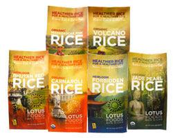 Lotus Rice Sampler