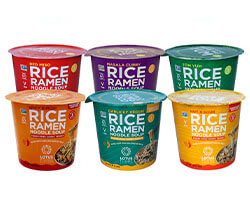 The Complete Rice Ramen Noodle Soup Cup Variety Pack