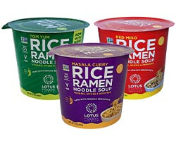 Rice Ramen Noodle Soup Variety Pack